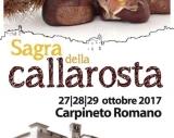 Sagra della Caldarrosta 27 - 28 - 29 Ottobre 2017